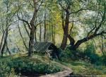Old Lindens. I. Shishkin. 1894. Canvas, oil