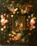 Vanitas. Michelle Boullion. France. The 1660s. Canvas, oil