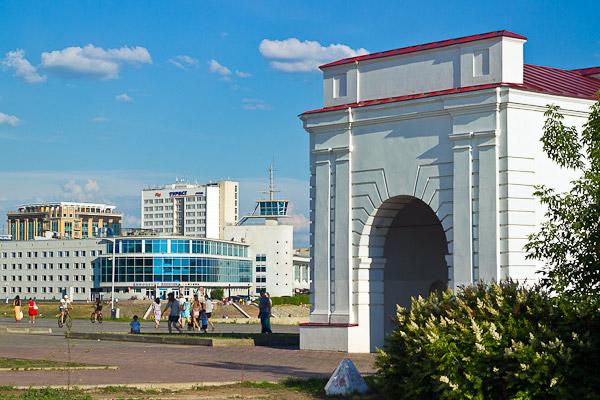 鄂木斯克历史中心