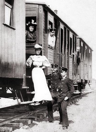 На Сибирском вокзале