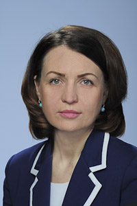 Mayor of Omsk Oksana Fadina