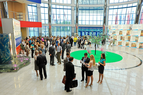 International event in Omsk exhibition center