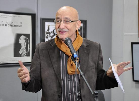 Основатель и первый директор музея «Искусство Омска» — кандидат философских наук Владимир Чирков