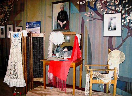Выставка «Звезда оперетты, легенда омской сцены Маргарита Лаврова», посвящённая юбилею заслуженной артистки России, солистки музыкального театра. 2008