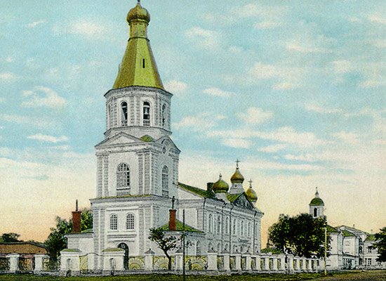 Resurrection military cathedral, the first stone building erected in Omsk in 1773