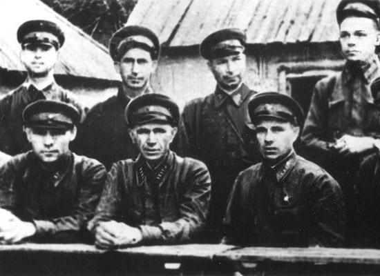 Командиры 308 стрелковой гвардейской дивизии