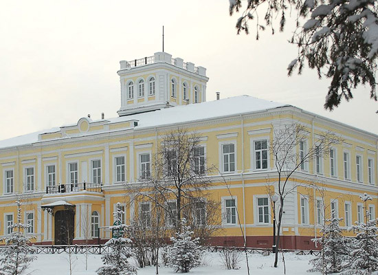 Omsk State Museum of Fine Arts. Governor-General Palace
