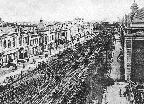 Гасфордский (позже – Любинский) проспект Омска