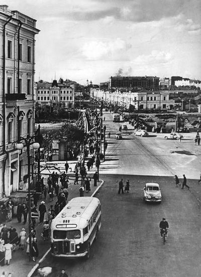 Улица Ленина, 1964 Год