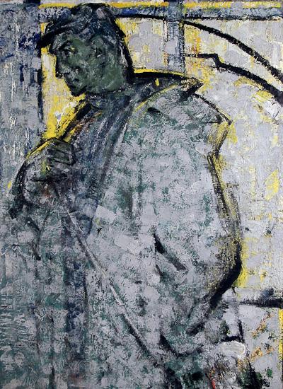 Николай Брюханов (1928–1979). Хлебороб. 1962. Холст, масло; 121×89 см